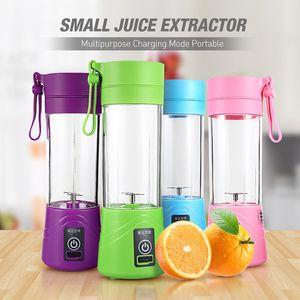 USB Portable Juicer électrique Blender Fruit Baby Food Milkshake Mixer Juice Maker multifonction machine 4 couleurs