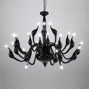 Modern Swan LED Chandelier Candle Hanging Pendant Light Home Living Room Ceiling Lamp Lighting Fixture PA0140