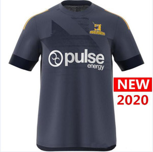 Hot sales 2020 Hurricanes Primeblue Super Rugby Jersey New Zealand home Rugby Jerseys Camisa Hurricane Performance Tee Singlet 5xl