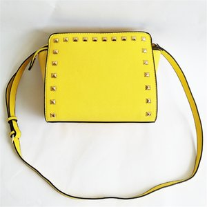 Fashion Luxury Designer Bags Women Designer Crossbody Messenger Shoulder Bag High Quality Rivet Shoulder Bag Bag#493