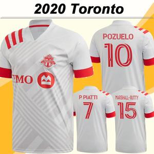 20 21 Toronto FC Mens Soccer Jerseys New BRADLEY POZUELO Altidore extérieur Maillot de football MORROW PIATTI MARSHALL-Rutty OSORIO Uniformes court