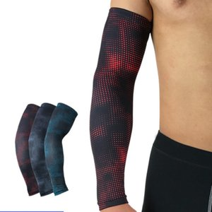 Aolikes Printed Dot Cycling Sun Protection Cuff Cover Running Bicycle UV Protective Arm Sleeve Bike Sport Arm Warmers Sleeves