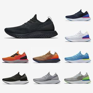 Nike Epic React Sıcak uçuş Epic S0UTH React erkek koşu ayakkabı kolej donanma üçlü Siyah Fusion koyu gri örgü tasarımcı spor ayakkabı