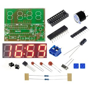 Measurement & Analysis Instruments Counters Digital Electronic C51 4 Bits Clock Electronic Production Suite DIY Kits Hot Selling