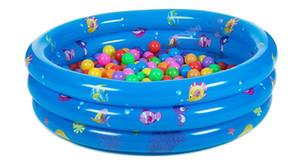 Inflable infantil Piscina Piscina al aire libre portable Niños Mar bola vaso de la piscina Bañera bebé Niños de natación para niños