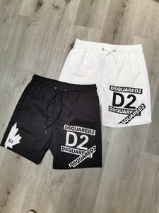 19ss projetistas Carta imprimir Board Shorts Mens boardshort Summer Beach Surf Shorts Calças de alta qualidade D2 Men Swim Shorts