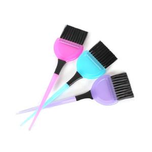 Petite brosse en caoutchouc peigne colorant outil cheveux bricolage brosse spéciale de teinture capillaire Weina peigne teinture pour les cheveux brosse huile au four
