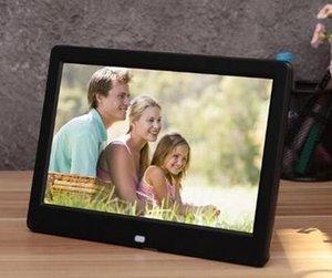 10 дюймов Рама HD LED Digital Picture Фото высокого разрешения MP3 MP4 Movie Player Будильник с пультом дистанционного управления
