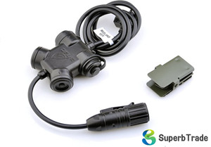 CLARUS PTT impermeable PTT cable, Push to Talk Headset Adaptador Z130