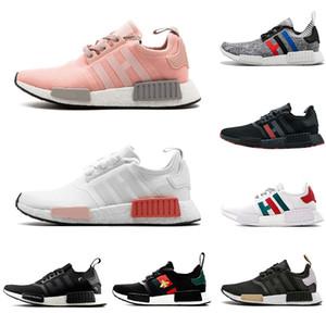 Adidas Gucci NMD R1 Boost Primeknit Triple nero bianco Bee nmds scarpe da corsa firmate per uomo Donna OREO Runner Sport Sneakers 36-45