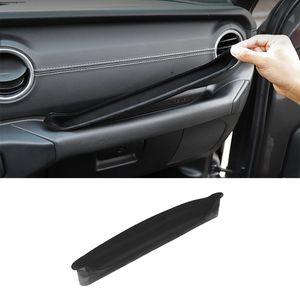Black Car Copilot Armrest Storage Box (Plus Upgraded Version) For Jeep Wrangler JL 2018+ Auto Internal Accessories