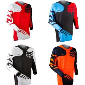 2020 new hot sale FOX summer outdoor locomotive racing downhill suit T-shirt off-road motorcycle quick dry suit customization