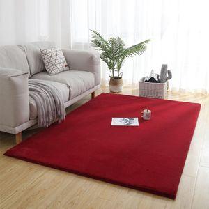 Vendita calda ispessito Carpet peluche Shaggy Grande molle eccellente Faux Fur Carpet Tappetino Home Decor per Soggiorno Camera da letto Camera dei bambini