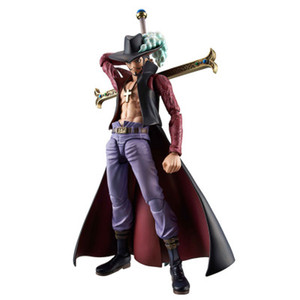 One Piece VAH HEROES Movable Series Seven Wuhai Mihawk / Eagle Eye One World First Swordsman Exquisito Regalo