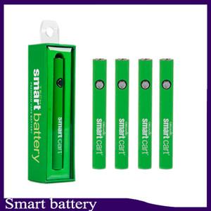 Smart Cart Batterie Vape Pen 510 Filetto 380mAh Batterie Smartcart preriscaldamento a tensione variabile con caricatore USB 0266267