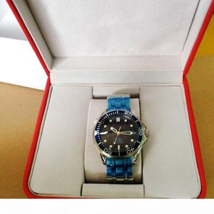 2019 Newest Luxury Mens Professional 300m James Bond 007 Blue Dial Sapphire Automatic Watch Men's Watches