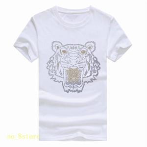 brilhante do verão diamondNew Marca Hoodies dos homens de capuz Cabeça do tigre Pares do inverno Hoodie Letters Designer Streetwear Jogger Tops Roupa A06