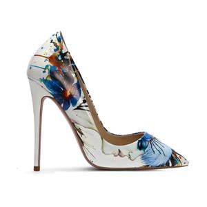 sapatas da mola Últimas novo modelo de design das meninas China Fornecedor Tendência Verão Top Quality Ladies salto alto Calçados