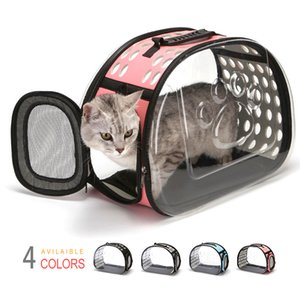 Portable Foldable Pet Bag Travel Transparent Mochila Gato Puppy Dog Cat Bag Dog Carrier Bags Shoulder Pets Backpack Carrier