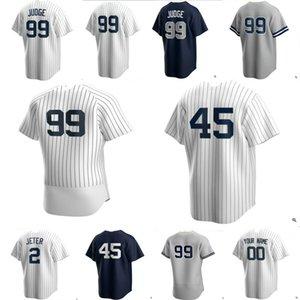 Yankee 99 Aaron juiz de Nova Iorque 2,020 personalizado Jersey 45 Gerrit Cole 25 Gleyber Torres Giancarlo Stanton Sanchez Sabathia DJ LeMahieu 06