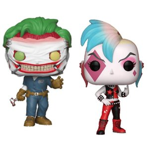 Funko pop Batman: Un décès dans la famille DC Suicide Squad Harley Quinn Joker action Vinyl Figure Collection Modèle jouet pour Childr