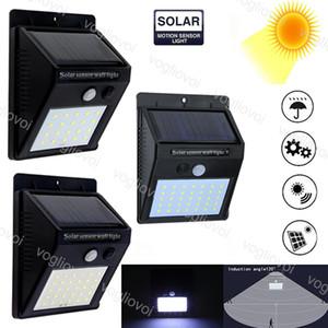Sicurezza di illuminazione solare lampada SMD2835 20LEDs 30LEDs 35LEDs PIR del sensore di movimento della luce impermeabile Percorso emergenza 3Model 1200mAh Luce EUB