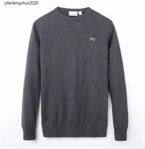 4EE1 Free shipping 2020 new high quality mile wile polo brand men's twist sweater knit cotton sweater jumper pullover sweater Crocodile game