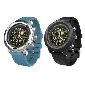 NX02 Smart İzle IP67 su geçirmez Bluetooth 4.0 Smartwatch Sports Tracker NIGH