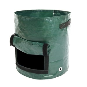 PE Planting Vegetables Tomato Gardening Flower Pot Plant Bag Durable Plastic Potato Planting Flower Pot Potato Planting Container Planter