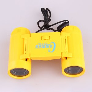 New Children Toys Foldable Kid Children Lightweight Magnification Toy Binocular Telescope With Neck Tie Strap For Kids gift