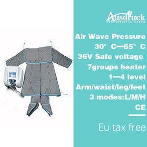 최고 품질의 파 INGRARED 프레소 AIR WAVE 압력 몸 DETOX 림프 미용 마사지 슬리밍 기계