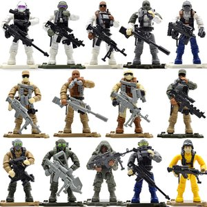 Set Game yummy Soldiers Duty Military Series With s Call Telescope Building Blocks Bricks Toys For Children Y190606