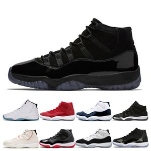 11 Basketbol Ayakkabı Erkek Kadın Prom Night Gym Kırmızı Concord Space Jam 11'ler Düşük Gri Bred Ayakkabı Spor Erkekler Kadınlar Sneakers Soğuk
