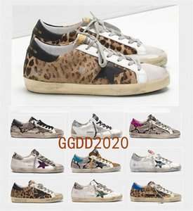 Italy Multicolor Heel Golden Superstar Gooses Sneakers Men Women Classic White Do-old Dirty Shoes Casual Shoes Size US5-11