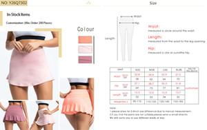 Körpermechanik Kleidung Übung Fitness Rock Print Designer Sport tragen Kleidung Yoga-Outfits Outdoor-Bekleidung Sommersport Reiten