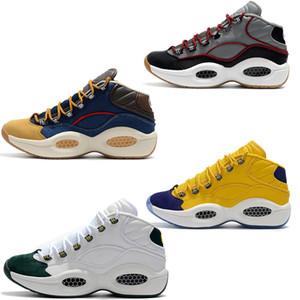 Nuevos zapatos de diseñador Respuesta 1s Zoom Hombres Atlético de lujo Elite Zapatillas deportivas Allen Iverson Pregunta Mid Q1 Zapatillas de baloncesto EU40-46