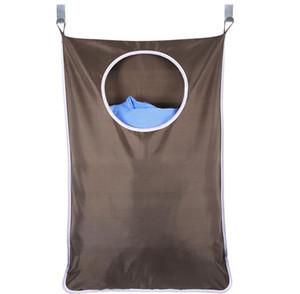 Çamaşır engel olan Asma Ev Kapı Ekstra Büyük Duvar Paslanmaz Çelik ve Emme Kupası Hook ile Çamaşırhane Organizatör Bag Monteli 30 * 20inch 777