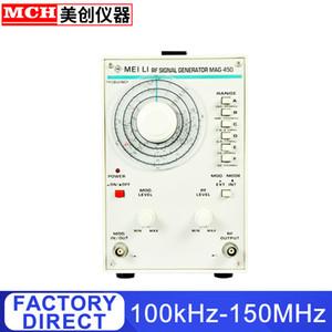 Yüksek Frekans Sinyal Jeneratör 100KHz-150MHz Frekans Sayıcı 150MHz RF Dijital Sinyal Jeneratör MAG-450 ile