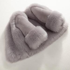 Dollplus Abrigo de piel para niñas de invierno Elegante niña Chaquetas y abrigos de piel sintética Parka gruesa y cálida Ropa para niños Boutique