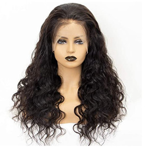 10 Inch Lace Frontal Wig Pre Plucked with Baby Hair Brazilian Remy Deep Body Wave Lace Human Hair Wigs for Black Women Natural Color