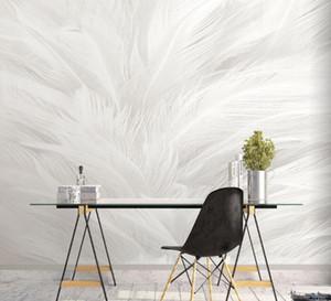Nordic pena papel de parede sala / decorativa pinturas TV fundo wallpaper personalidade mural quarto criativo revestimento de parede
