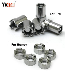 Authentic Yocan UNI Handy Adapter Magnetic Rings Adattatore Connettore magnetico per Yocan UNI Handy Box Mod Batteria 100% originale