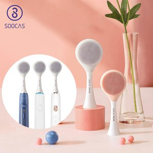 SOOCAS Facial Cleansing Brush Head Original for Xiaomi Youpin X1 X3 X5 Sonic Electric Toothbrush SOOCARE Electric Massage Brush