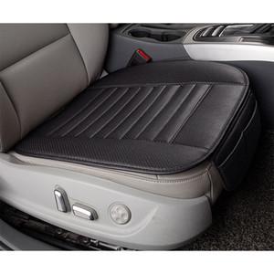 Faux Leather Car Seat Cover Four Season Use Single Car Seat Pad Leather Cushion
