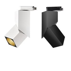 CREE COB için parça ışık 5W 12W Tavan ışık aşamalı ray spot led Home Mağazaları Mağaza Aydınlatma COB Tavan ışık için