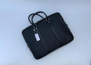2 Bad business casual homens de couro PU Messenger Bag Crossbody sacos, sacos de ombro de trabalho de escritório Maleta saco do computador de 15 polegadas