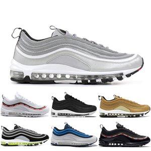 Nike air max 97 2018 Chaussures Sean Wotherspoon Laufschuhe SE OG Ultra-Marken-Designer-Air Women Trainer Männer Maxes Plus Gold Silver Bullet Schuh xiang
