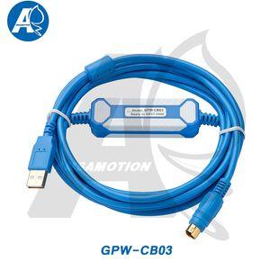 GPW-CB03 + Cabo de programação GP / Proface adequado Baixar GPW-CB03 GP37W2 GP2301 GP2500