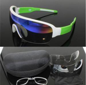 Cheap Professional polarizada Ciclismo Óculos bicicleta Goggles Road Bike Óculos Outdoor Sports Óculos de sol UV 400 3 Lens Correndo Equitação Ciclismo