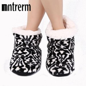 Mntrerm Cotton Slippers Men And Women Lovers Household Slippers To Keep Warm Shoes Pantoufle Homme In The Winter The Best3da3#